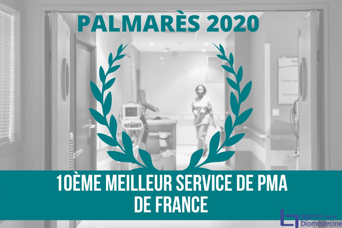 Le service PMA de Natecia classé 10ème meilleur de France
